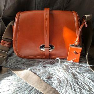 Dooney and Bourke Florentine Toscana  saddle bag